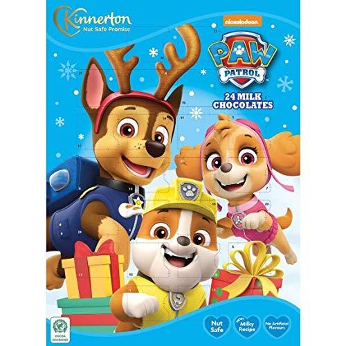 Z&Q BROS LTD Toller 2020 Kids Paw Patrol Adventskalender mit 24 Milchschokoladen