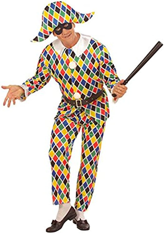 Mens Harlequin Costume Medium UK 40 42  for Clown Fancy Dress B07D6CNBMK Sehr gute Qualität  | Online-Exportgeschäft