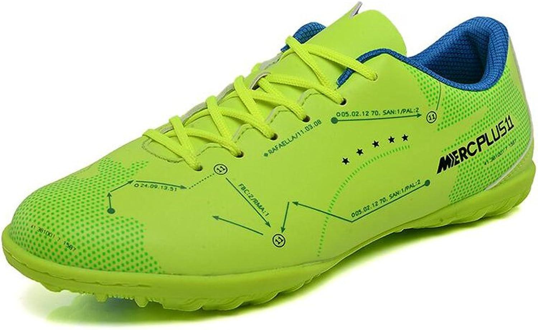 CJC shoes Soccer Unisex Boys Girls Football Training shoes (color   B, Size   EU37 UK4.5-5)