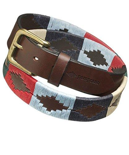 Pampeano ceinture de polo en cuir multi Multi Couleur 34