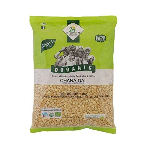 24 Mantara 24 Mantra Organic Chana Dal - 2 Lb,, ()