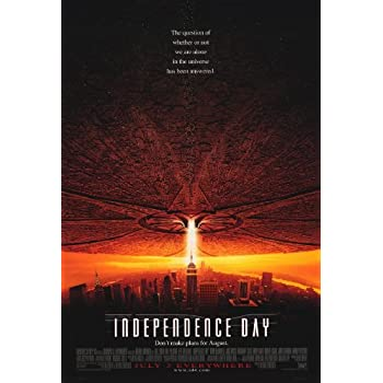 Amazon Com Independence Day 27 X 40 Movie Poster Style A Lithographic Prints Posters Prints