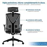 Zoom IMG-2 intey sedia ufficio regolabile ergonomica
