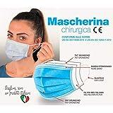 Mascherine chirurgiche certificate CE - Made in Italy - Scatola 50 pezzi