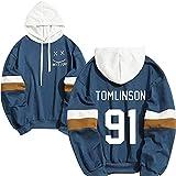 louis tomlinson one direction hoodies unisex streetwear moda hip hop felpa con cappuccio o xl