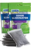 Gonzo Bamboo Charcoal (12 Extra Small Bags 10 Grams)...