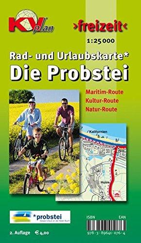 Probstei mit Laboe und Schönberg: 1:25.000 Rad- und Urlaubskarte (KVplan Schleswig-Holstein-Region)