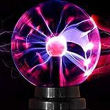 Magische Plasmakugel Plasma Ball Leucht Tragbare Ball Elektrostatische Kugel Berührungsempfindliche...