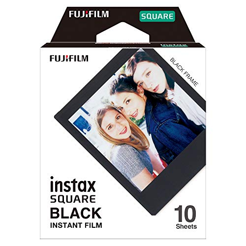 Fujifilm Instax Square - 10 films - bordure noir