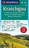 KOMPASS Wanderkarte Kraichgau, Karlsruhe, Landau i. d. Pfalz, Speyer, Sinsheim, Eppingen, Bretten, Pforzheim: 4in1 Wanderkarte 1:50000 mit Aktiv Guide ... (KOMPASS-Wanderkarten, Band 768)