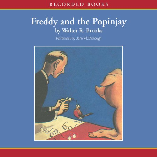 Freddy and the Popinjay audiobook cover art