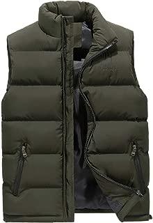 Men Vest Autumn Winter Solid Waistcoat Vest Outerwear Jacket Coat Gilet Sleeveless Top Blouse