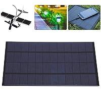 ソーラーパネル、高効率防風ソーラーバッテリーモジュール、ポリシリコン安定ソーラー玩具ソーラーローンライト用携帯電話充電器ソーラーランドスケープライト
