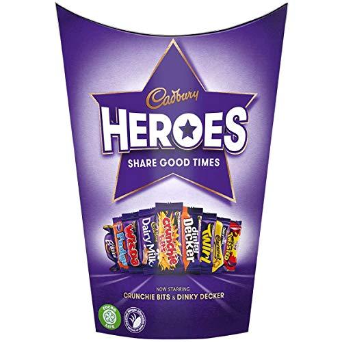 Cadbury Heroes Carton 185 (Pack of 2)