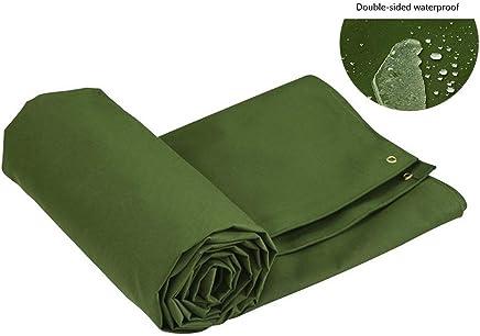 Color : Green, Size : 2x1.5m Hochleistungs-Dickzelt Dachplane 600 g//m/² LJFPB Abdeckplane Universal Deluxe wasserdichte Abdeckung f/ür Wohnwagen//Anh/änger-Anh/ängerkupplung