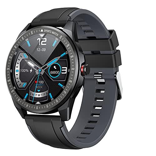 Vigorun Smartwatch Orologio Intelligente, Touchscreen Intero 1,28 Pollici per Uomo, Fitness Tracker Impermeabile IP68 con 10 Modalità Sport Cardiofrequenzimetro 24 Ore Sleep Tracker Contapassi Nero