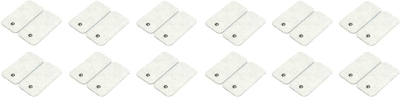 Beurer EM 49. Pack 12 electrodos rectanuglares
