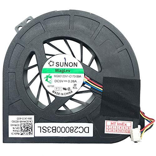 (GPU Version) Lüfter Kühler Fan Cooler kompatibel für Dell Precision M4600, Precision M4700, Precision M4800