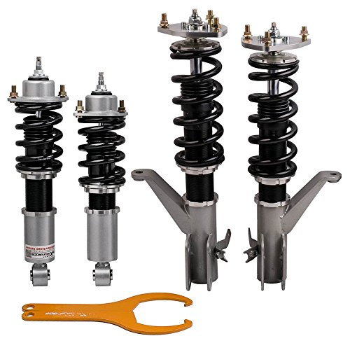 maXpeedingrods Full Performance Coilover for Honda Civic 2001-2005 Coil Spring Suspension Struts with Adjustable Damper