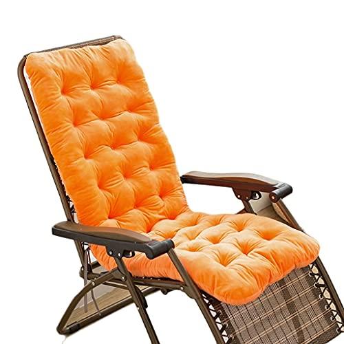 Cojines para tumbonas, Cojines para sillas de jardín de 140 cm, cojín para Chaise Longue, Cojines para Bancos de Patio, Cojines para Asientos al Aire Libre