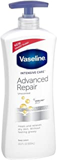 Vaseline Intensive Care Advanced Repair Unscented Healing Moisture Lotion, 20.3 oz