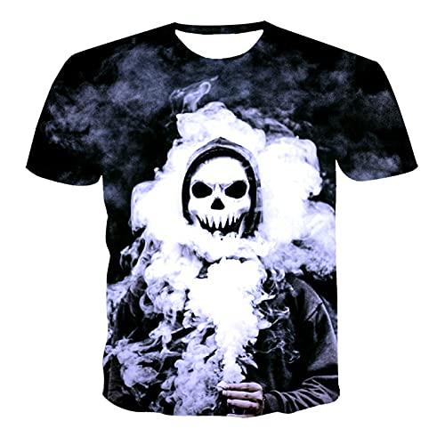 SSBZYES Camiseta para Hombre Camiseta de Verano de Manga Corta para Hombre Camiseta de Gran tamaño para Hombre Camiseta con Cuello Redondo para Hombre Camiseta de Marca de Moda de Moda Camiseta