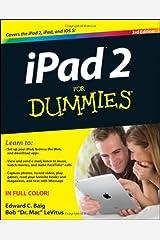 iPad 2 For Dummies Paperback