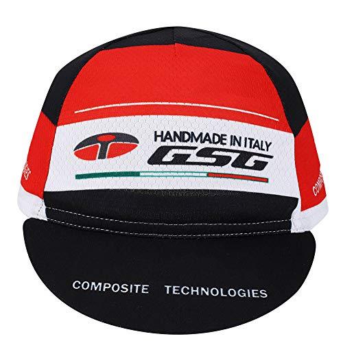 Changor Exterior Ciclismo Sombrero, 26 * dieciséis * 16 cm Poliéster Hecho Transferir Patrón (Rojo)