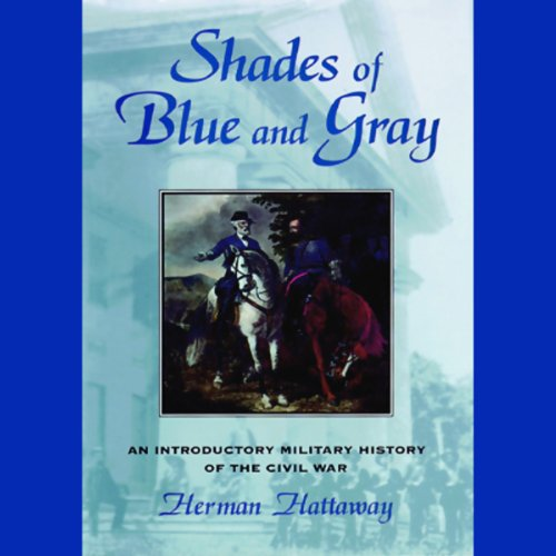 Shades of Blue and Gray audiobook cover art