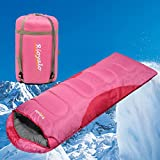 0 Degree Winter Sleeping Bag for Adults Camping (350GSM)R - Temp Range (5F–32F) Portable...