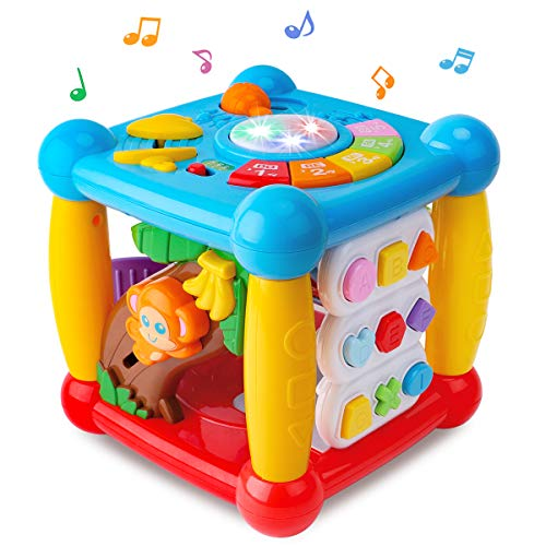 GILOBABY Baby Activity Cube Toys for 1 Years Old Boy Girl, Baby Toys 12-18 Month , Early Educational...