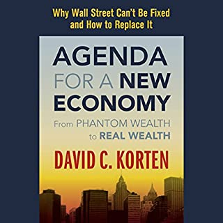 Agenda for a New Economy audiobook cover art