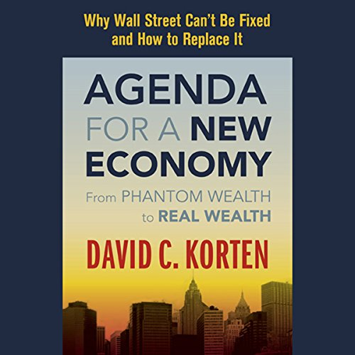 Agenda for a New Economy audiobook cover art