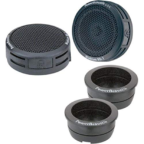 Power Acoustik NB-2 200-Watt 3-Way Tweeters, Standard Packaging,Black