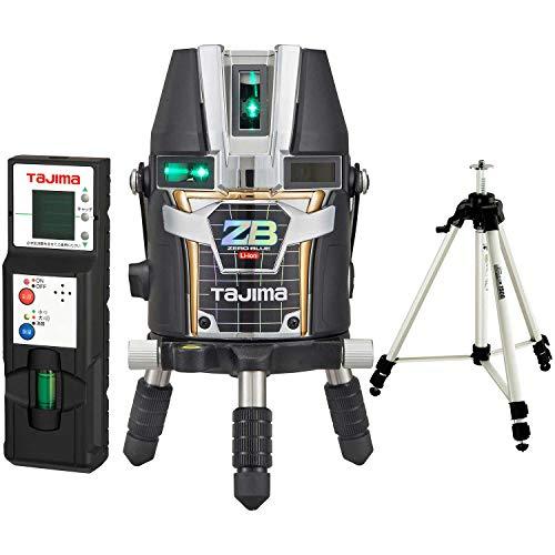 タジマ(Tajima) レーザー墨出し器 KJY矩十字&横 ゼロブルーリチウム ZEROBL-KJYSET 受光器・三脚セット