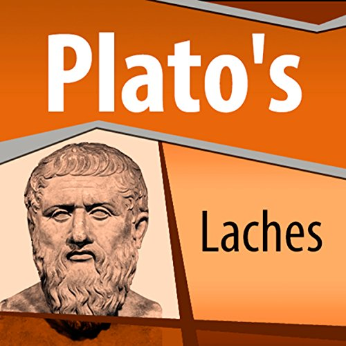 Plato's Laches audiobook cover art
