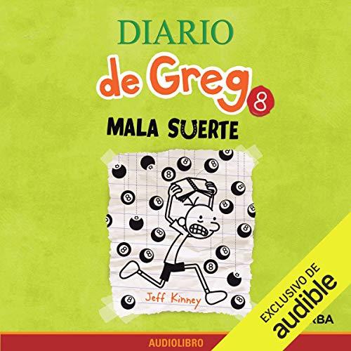 Diseño de la portada del título Diario de Greg 8