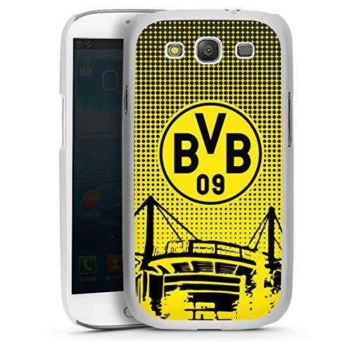 DeinDesign Hard Case kompatibel mit Samsung Galaxy S3 Schutzhülle transparent Smartphone Backcover Stadion BVB Borussia Dortmund
