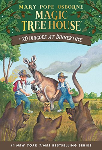 Dingoes at Dinnertime (Magic Tree House Book 20) (English Edition)