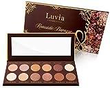 Paleta de sombras de ojos mate, brillante, tonos nude, maquillaje barroco romántico, incluye 12 colores nude románticos y oro rosa, paleta de sombras de ojos vegana profesional