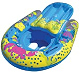 SwimSchool 4-in-1 Progressive Swim Training System, Baby Pool Float, Baby Boat, Cruiser, Kick Float, Kickboard, Safety Seat, 18 Months & Up