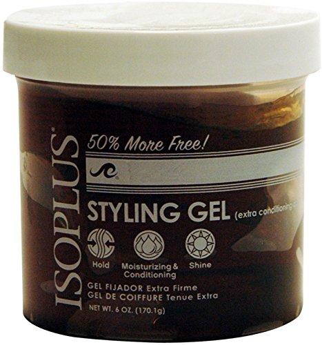 Isoplus Extra Conditioning Dark Hold Styling Gel, 6 Oz