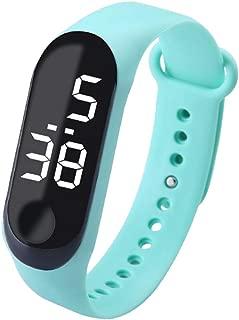 KESOTO Gel Rubber Bracelet Touch Screen LED Digital Display Unisex Sports Watch