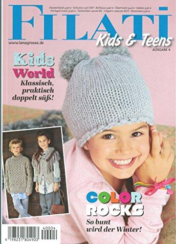 Lana Grossa Filati Kids & Teens 4 Strickheft mit Strickanleitungen