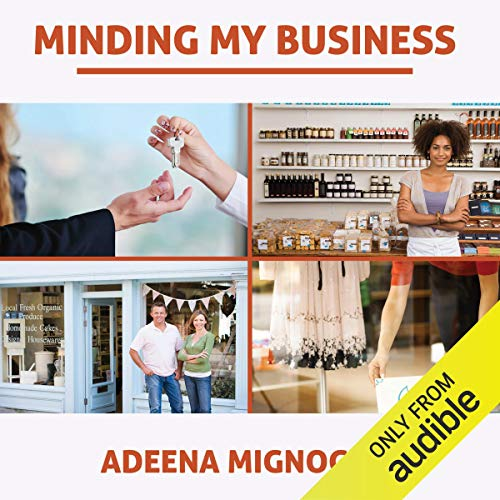 Minding My Business audiobook cover art