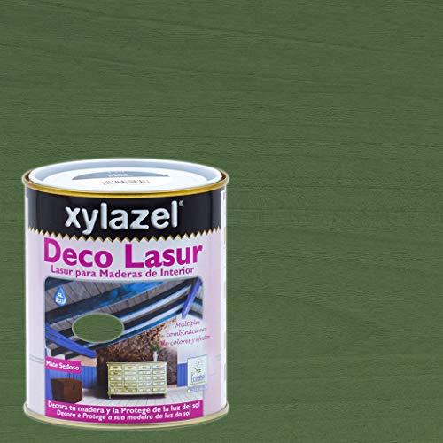 Xylazel - Protección madera deco lasur 750ml provenzal verde