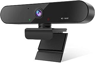 Bengoo webカメラ ウェブカメラ webカメラ マイク内蔵 カメラ pc 80°広角 360°回転可能 HD1080P 200万画素 小型サイズ zoom カメラ skype会議用 Windows 10/8/7 Mac OS X, Yo...