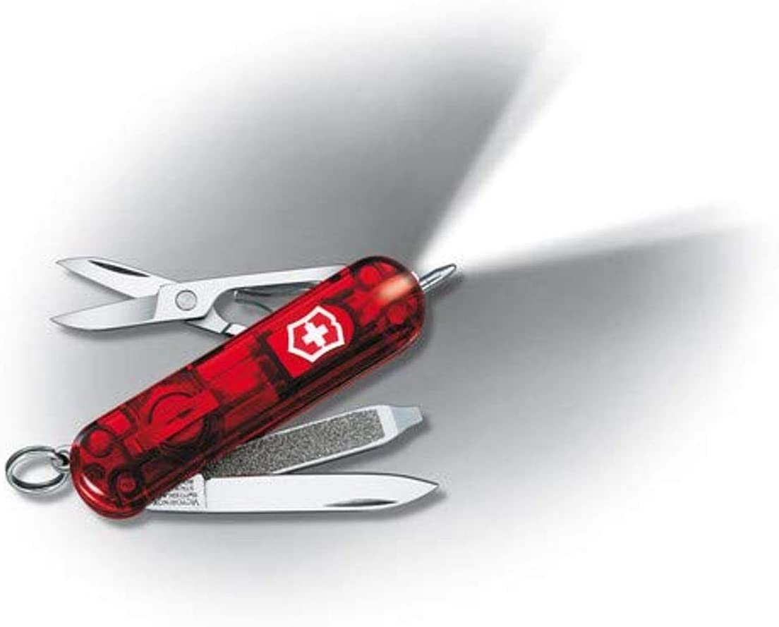 Victorinox Brand new VIC-57187 Signature 58mm Ruby Lite New Shipping Free Shipping