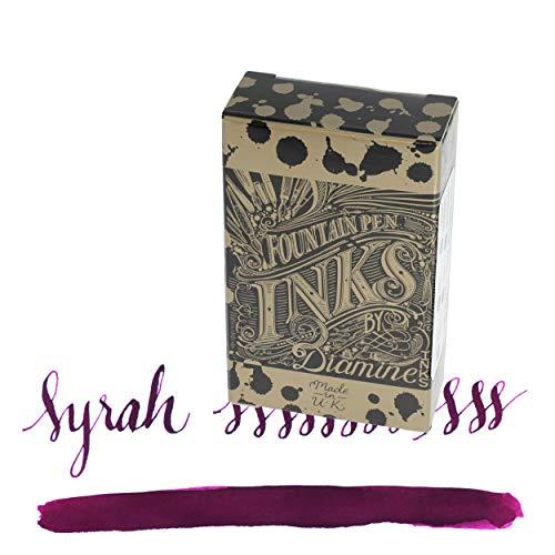 Diamine Cartuchos de tinta para pluma estilográfica (18 unidades) – Syrah