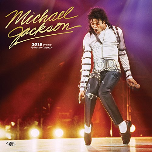 Michael Jackson 2019 - 18-Monatskalender (Wall-Kalender)